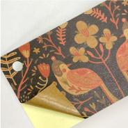 赤牛皮貼紙(無上光)